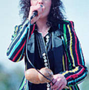 Ann Wilson Of Heart At 1981 Day On The Green In Oakland Ca Poster