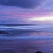 Anna Bay Sunset Poster