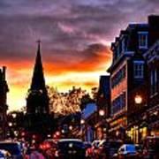 Annapolis Night Poster