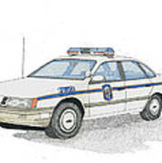 Anne Arundel County Police Poster by Calvert Koerber