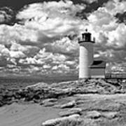 Annisquam Lighthouse Infrared Poster