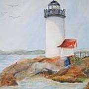 Annisquam Lighthouse Poster