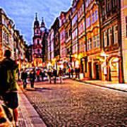 Another Prague Night - Czech Republic Poster