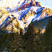 Another View Of My Mountain Poster