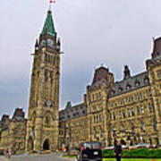 Another View Of Parliament Building In Ottawa-on Poster