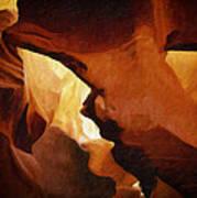 Antelope Canyon 26 Poster