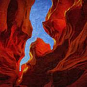 Antelope Canyon 30 Poster