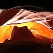 Antelope Canyon Panorama Poster
