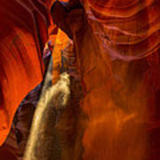 Antelope Canyon - Sand In The Light Poster
