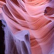 Antelope Canyon Waves Poster