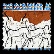 Antelope Of Akrotiri Poster