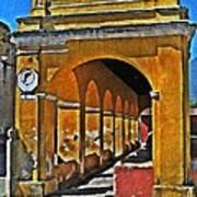 Antigua Arches Poster