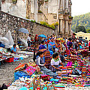 Antigua Guatemala Poster