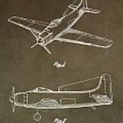 Antique Airplane Patent Poster