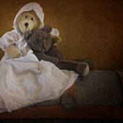 Antique Bears Poster