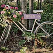 Antique Bike Poster