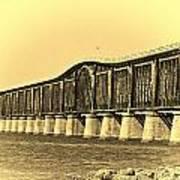 Antique Bridge Poster