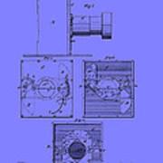 Antique Camera Patent 1883 Poster