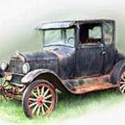 Antique Car Poster