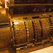 Antique Cash Register Poster