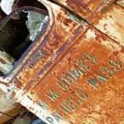 Antique Chevrolet Farm Truck Poster