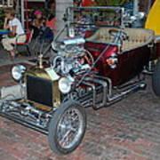 Antique Custom Hotrod Poster