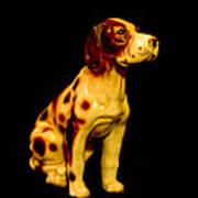 Antique Dog 3 Poster