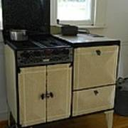Antique Enameled Stove Poster