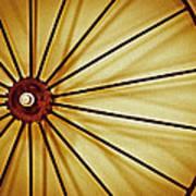 Antique Farm Wheel Poster by Carolyn Marshall