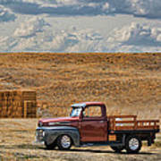 Antique Ford Truck Poster