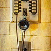 Antique Intercom Poster