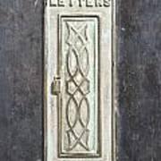 Antique Letter Pox Poster