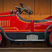 Antique Pedal Car 2 Poster