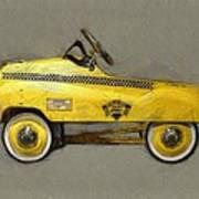 Antique Pedal Car Lll Poster