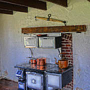 Antique Stove Poster