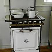 Antique Stove Number 3 Poster