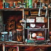 Antique Things Poster