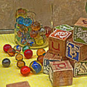 Antique Toys Poster