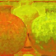 Antique Vases Poster
