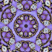 Antique Watch Kaleidoscope Poster