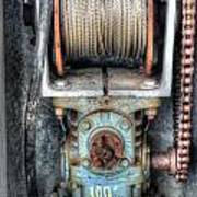 Antique Winch Poster
