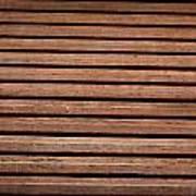 Antique Wood Texture Poster