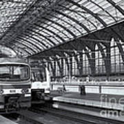Antwerp Central Station II Poster