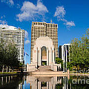 Anzac Memorial And Pool Of Reflection Poster