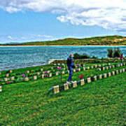 Anzak Cemetery Along The Dardenelles In Gallipolii-turkey Poster