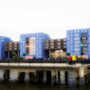 Apartments Rotterdam Poster