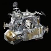 Apollo Lunar Module Ascent Stage Poster