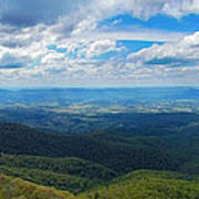 Appalachain Trail View Poster