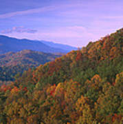 Appalachian Mountains Ablaze  Poster