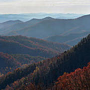 Appalachian Mountains North Carolina Poster